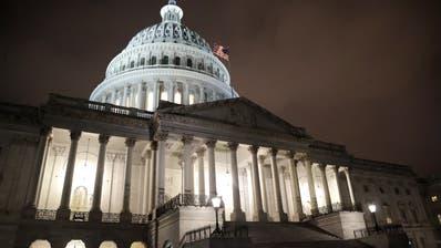 Das Capitol in Washington. (Bild: Julio Cortez / AP)