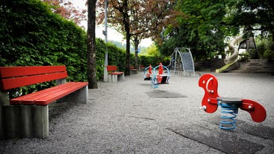 Der Spielplatz Dammgärtli. (Bild: Pius Amrein)