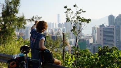 Yannou Kronenberg nach der Ankunft in Hongkong. (Bilder: Yannou Kronenberg)