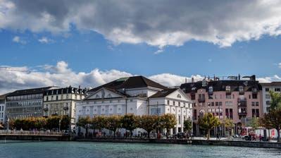 Das Luzerner Theater. (Bild: Eveline Beerkircher, 10. Oktober 2019)