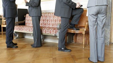Blick in die Wandelhalle: Wird Lobbying im Bundeshaus transparenter? (Bild: Peter Klaunzer/Keystone)