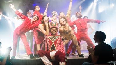 Das Broadway Variété mit ihrem Programm Le Resort, am 28. Juni 2018 auf dem Sonnenberg in Kriens.(Freie Fotografin/Eveline Beerkircher) (Eveline Beerkircher)