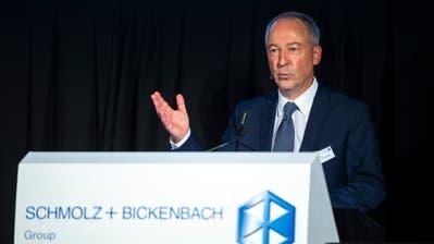 Jens Alder, Verwaltungsratspräsident von Schmolz+Bickenbach, an der ausserordentlichen Generalversammlung in Emmenbrücke. (Bild: Dominik Wunderli (Emmenbrücke, 2. Dezember 2019))