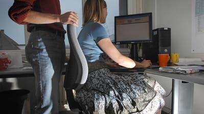 Illustration zum Thema Sexuelle Belästigung am Arbeitsplatz, fotografiert am 15. Januar 2008.(Neue LZ/Eveline Bachmann) (Neue Luzerner Zeitung)