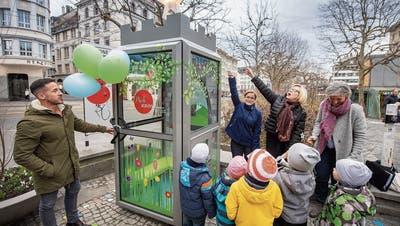 Ein Happy End für die Märlistationin St.Gallen: Nach Verzögerungen ist sie endlich eröffnet