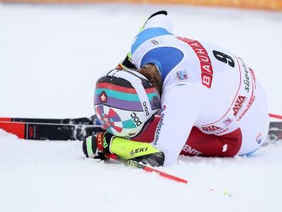 Marco Odermatt bezahlt 5. Platz in Alta Badia mit Knieverletzung