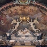Engel in der St.Galler Kathedrale: Mittler zwischen Himmel und Erde. (Bilder: Lisa Jenny)