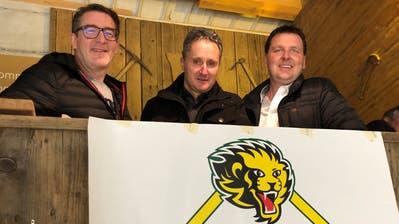 Die drei neuen Verwaltungsräte des HC Thurgau (von links): Ralph Ott, Cäsar Müller und René Fontana. (Matthias Hafen)