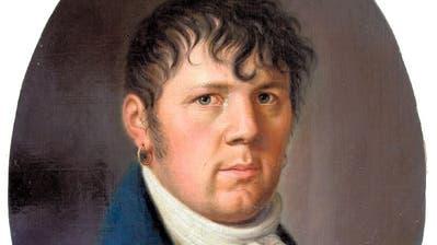 Johann Kaspar Moos (1774–1835), Selbstbildnis um 1832. (Bild: Museum Burg Zug, Inventarnummer 10774)