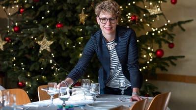 Lädt heute zu Tisch: Sozialarbeiterin Martina Helfenstein. (Bild: Dominik Wunderli (Sursee, 23. Dezember 2019))