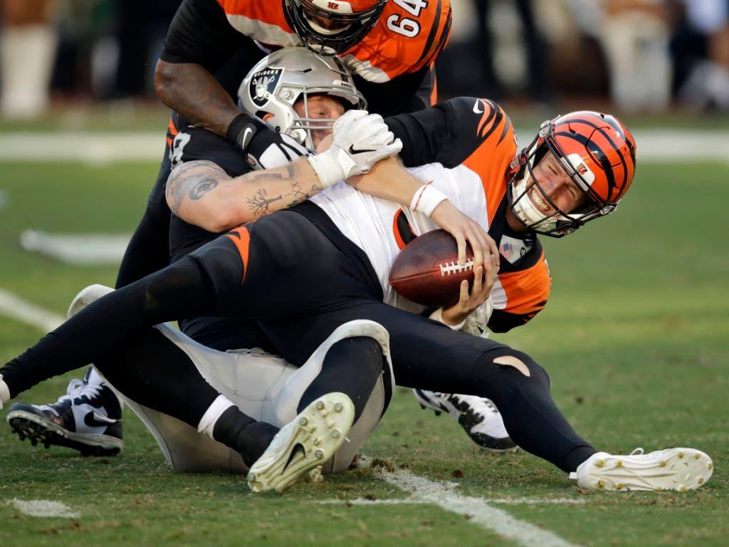 Die Cincinnati Bengals mit Quarterback Ryan Finley sind das schlechteste Team dieser NFL-Saison und dürfen deshalb beim Draft als Erste wählen