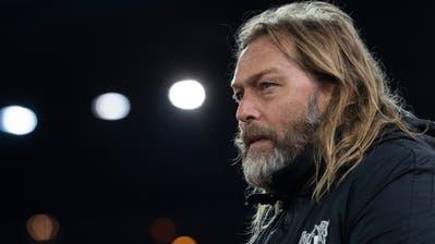 René van Eck vergangene Saison als Assistenztrainer beim FC Zürich. (Ennio Leanza/KEYSTONE)