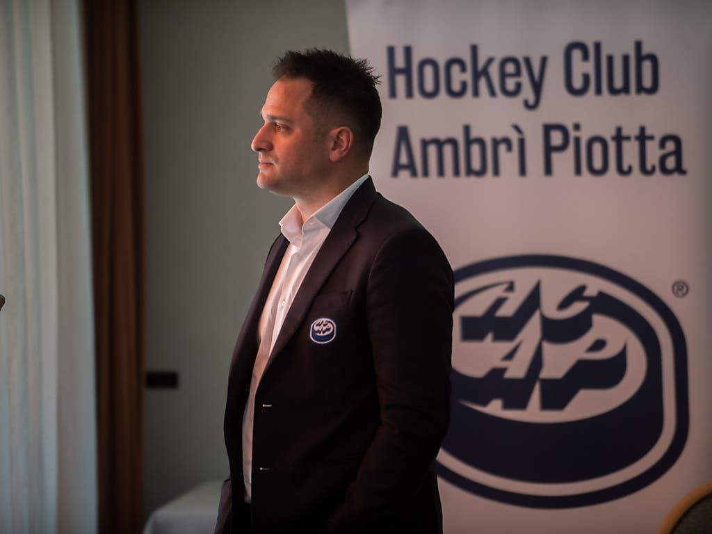 Ambris Sportchef Paolo Duca nahm schon als Spieler am Spengler Cup teil