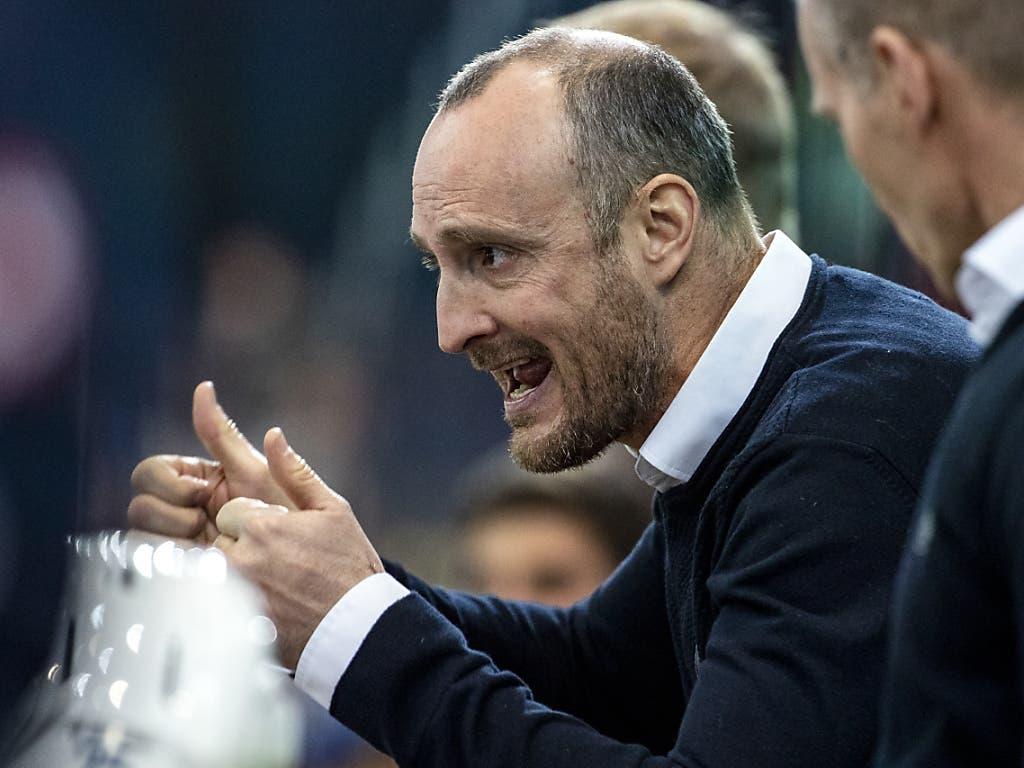Christian Wohlwend strebt mit dem HC Davos den ersten Titel in dieser Saison an