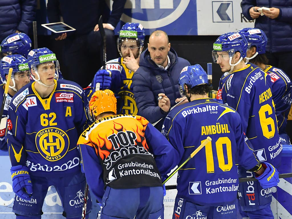 Der HC Davos gewann das letzte Mal 2011 den Spengler Cup