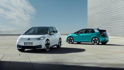 Der VW-Konzern bringt im Rahmen seiner E-Offensive den ID.3 auf den Markt. (Bilder: zvg)