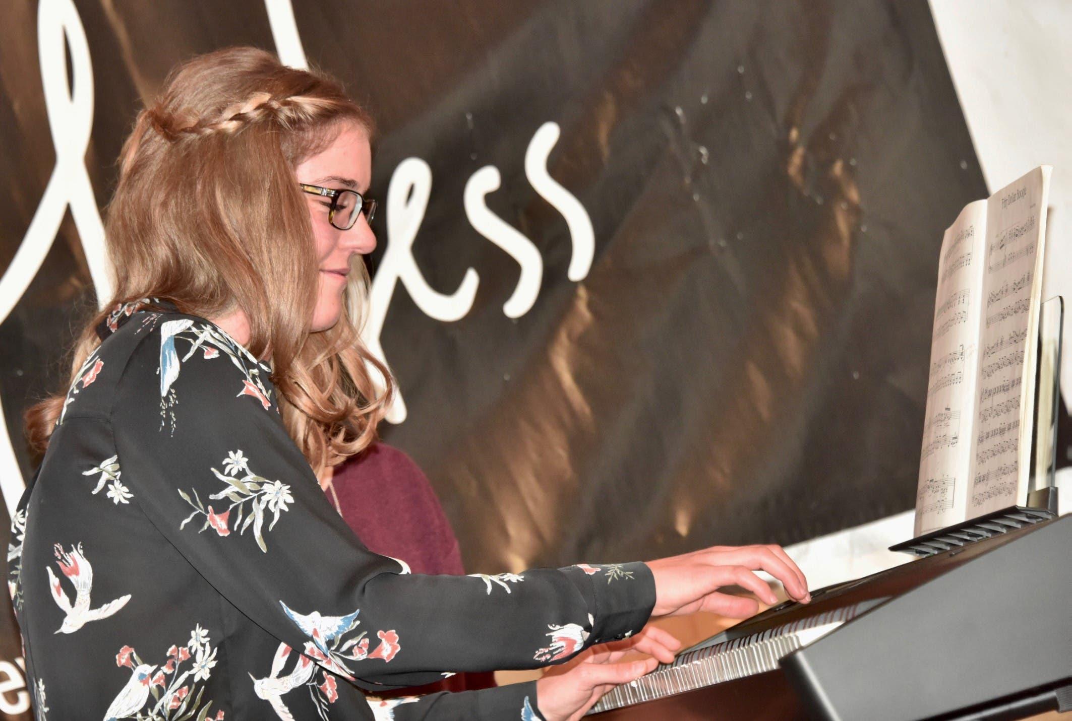 25. Januar: Selina Zonolari erhält den Anerkennungspreis des Vereins Patronat Alte Mühle Gams.