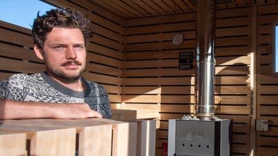 So sieht das einzige Saunaboot der Schweiz aus. (Bild: Boris Bürgisser (Kastanienbaum, 6. Dezember))