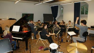 Studierende der Hochschule Luzern Musik proben im Konservatorium Dreilinden in Luzern  für das Dreikönigs Konzert Engelberg. (Bild: Primus Camenzind (14. Dezember 2019))