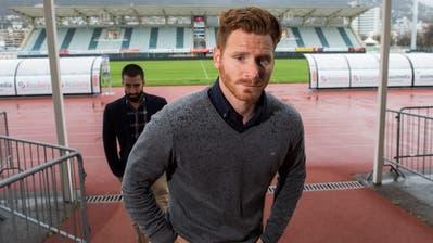 Der 30-jährige Guillermo Abascal(im Bild noch Trainer in Lugano) soll mit dem FC Luzern finale Gespräche führen. (Gabriele Putzu/Keystone (Lugano, 10. April 2018))