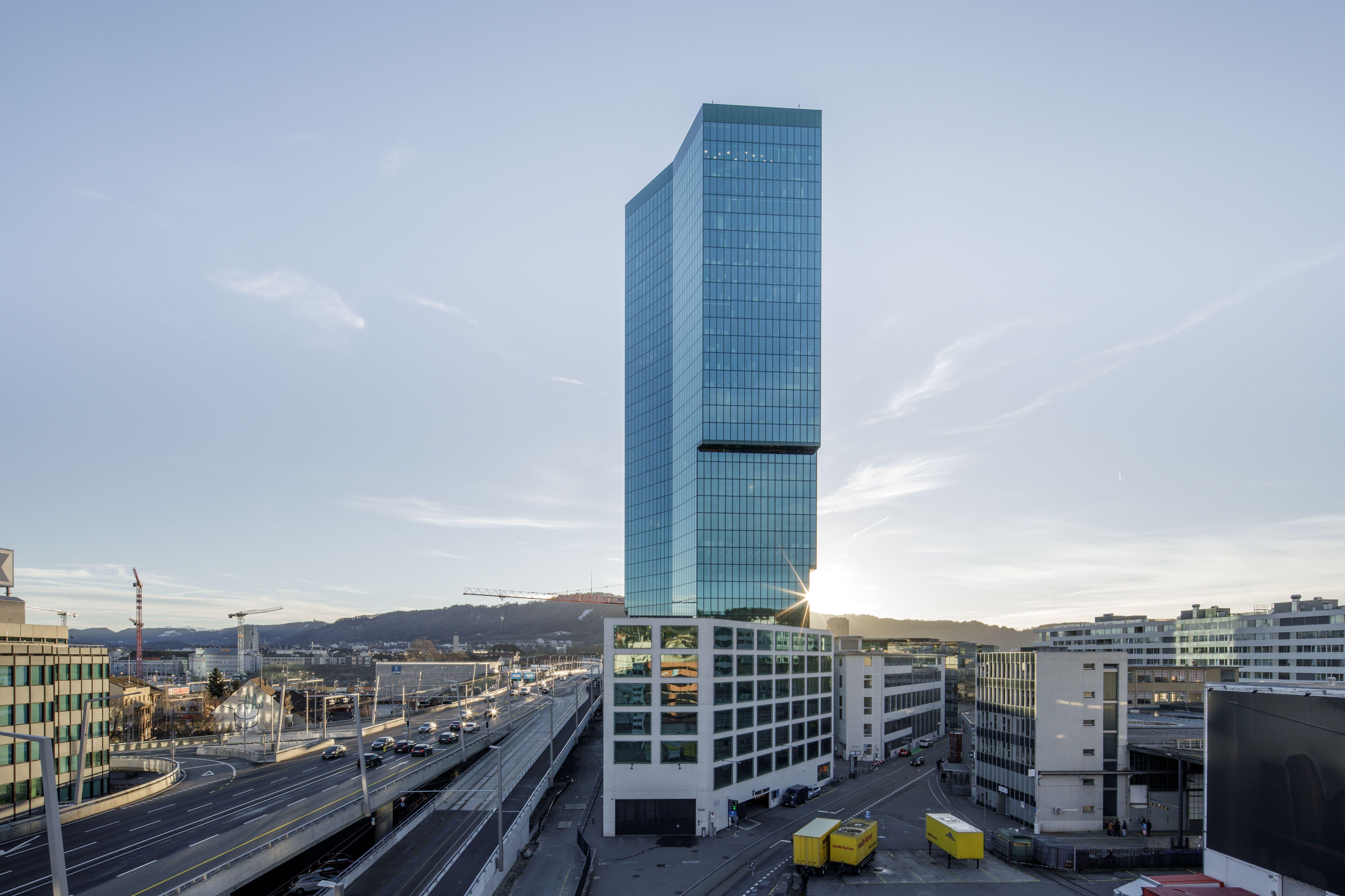 Er eröffnette den Reigen: Der Prime-Tower war an der Hardbrücke in Zürich steht symbolisch für die Wiederentdeckung des Hochhauses in der Schweiz.