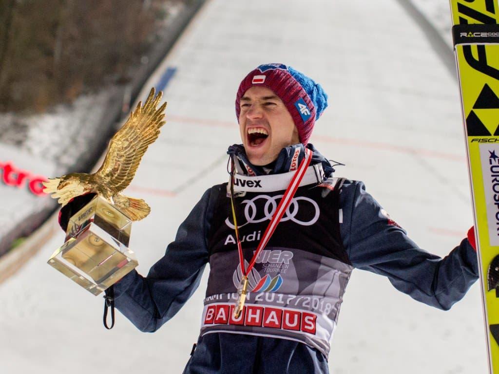 Schon zweimal der Gewinner des Goldenen Adlers: Kamil Stoch