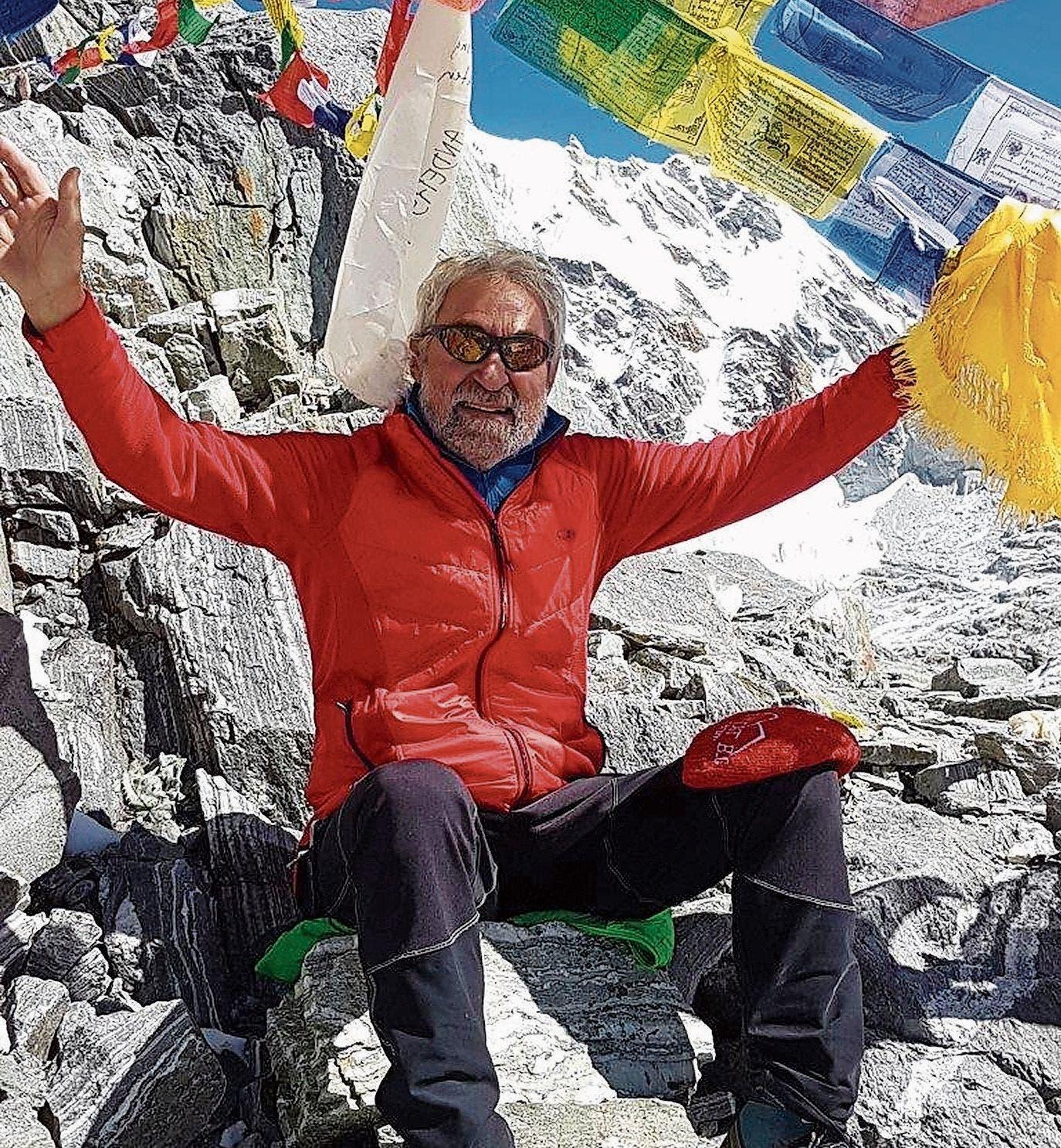 Als Kind faszinierte Hansruedi Wirth ein Comic über die Besteigung des Mount Everest. Jahre später bestieg er selber mehrere 8000er – auch den Mount Everest.