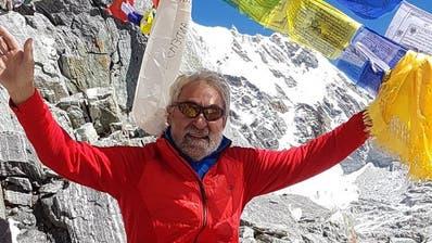 Als Kind faszinierte Hansruedi Wirth ein Comic über die Besteigung des Mount Everest. Jahre später bestieg er selber mehrere 8000er – auch den Mount Everest. (Bild: PD)