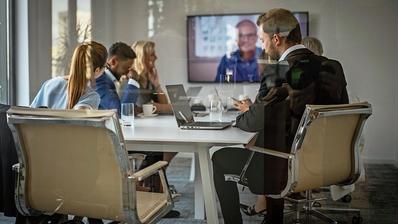 Video-Konferenzen mit Dritten sind beim Bund nicht möglich. (Bild: Getty)