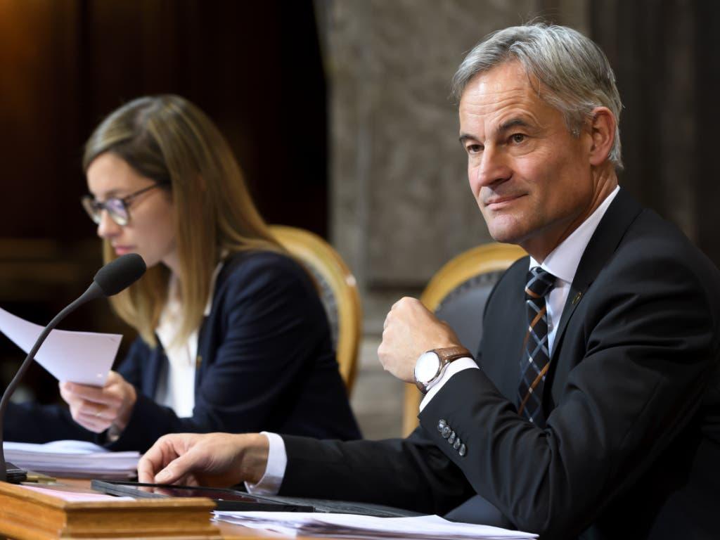 Für den erst am Dienstag vereidigten Zuger Ständerat Matthias Michel (FDP) war der Voranschlag 2020 das erste Geschäft im Ständerat.