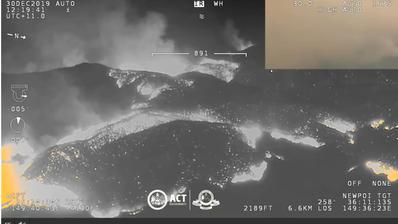 Buschbrände in Australien –Touristen und Einwohner fliehen