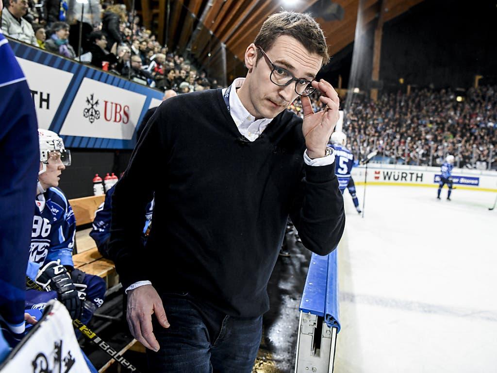Ambris Headcoach Luca Cereda gewann mit seinem couragierten Team am Spengler Cup die Herzen der Eishockey-Fans