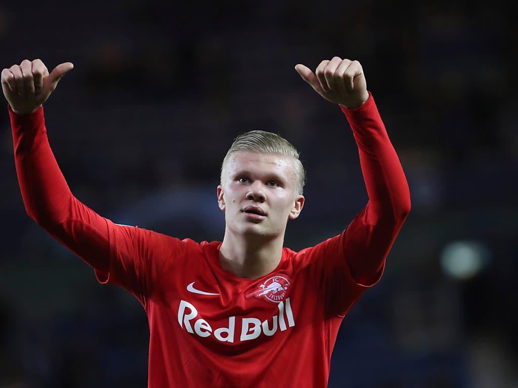 Erling Haaland gehört zu den grössten Mittelstürmer-Talenten im Fussball - der 19-Jährige wechselt per 1. Januar von Salzburg zu Borussia Dortmund