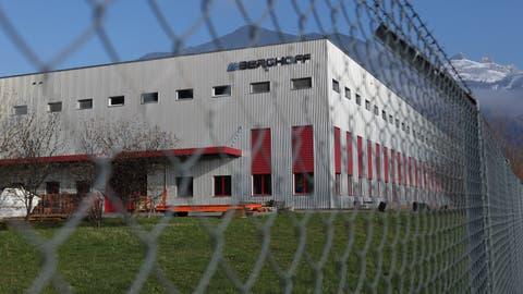 Das Industrieunternehmen Berghoff schliesst seine Tore in Uri. (Bild: Florian Arnold (Schattdorf, 4.Dezember 2019))