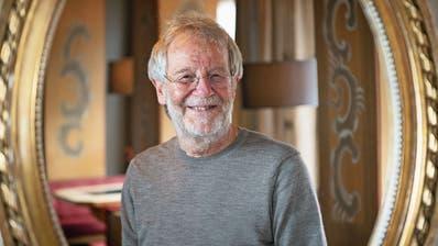 «Letztlich bin ich meinen Weg immer alleine gegangen», sagt der Komponist Peter Roth über seine musikalische Biografie. (Bild: Ralph Ribi)