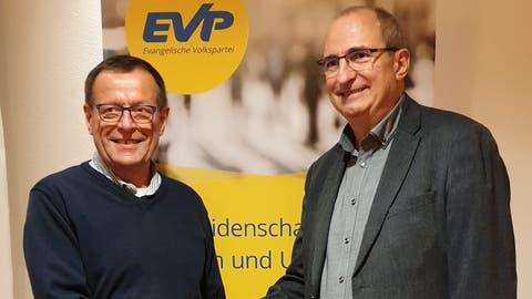 Christian Wälchli (rechts) stellt sich als Nachfolger von Martin Aebersold als Laienrichter am Bezirksgericht Frauenfeld zur Verfügung. ((Bilder. PD))
