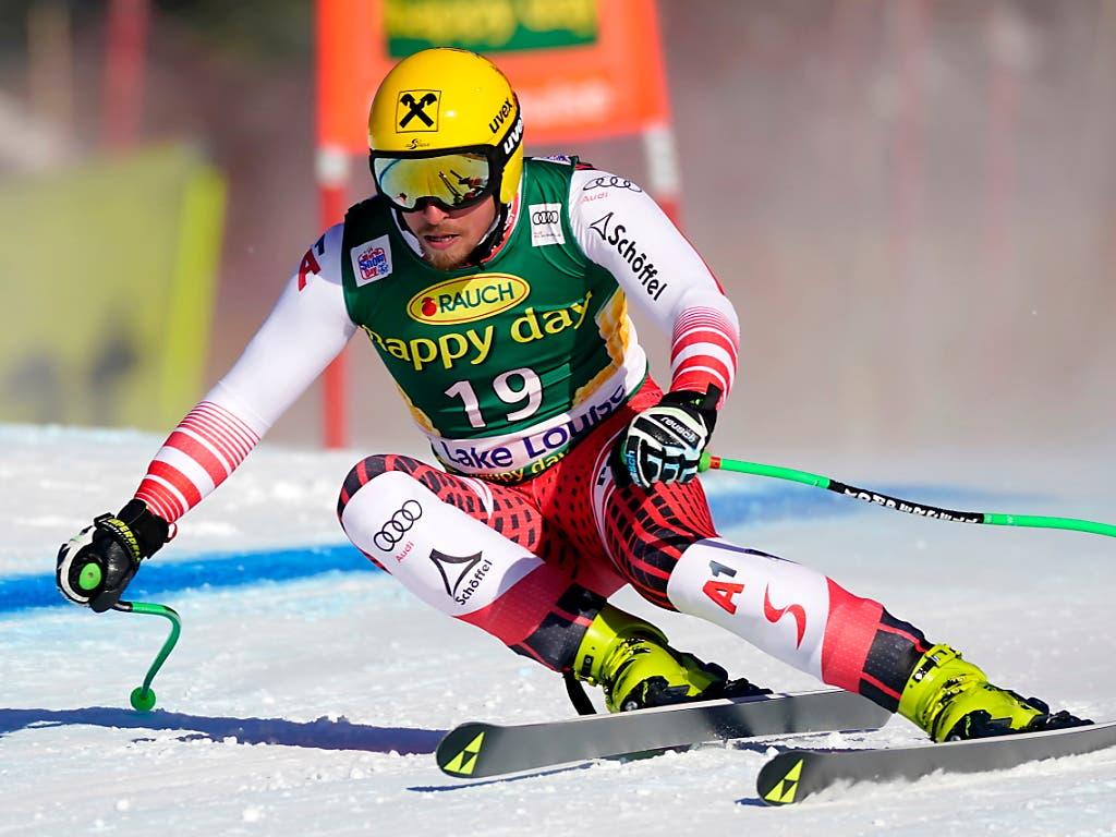 Max Franz ist einer der Leader im österreichischen Speed-Team