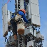 Der Ausbau und die Weiterentwicklung der Mobilfunkantennen geben zu reden. (Bild: Mario Testa)