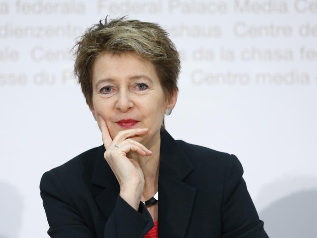 Bundesrätin Simonetta Sommaruga wird voraussichtlich für die Schweiz am G-20-Gipfel in Riad im November nächsten Jahres teilnehmen.