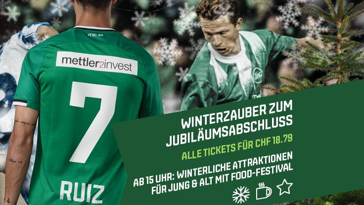 Wir verlosen 10x2Sitzplatztickets für FCSG1879 vs. FC Zürich