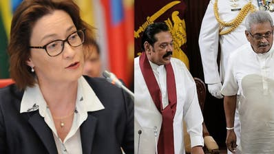 Schweizer Botschaftsangestellte in Sri Lanka bedroht und festgehalten