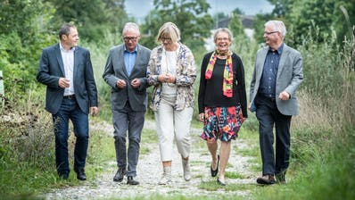 Die Jury: David Angst, Rolf Müller, Sabine Ruf, Katharina Winiger und Bernhard Koch. (Andrea Stalder)