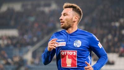 Offensivkraft Francesco Margiotta spielt gerade keine Hauptrolle beim FCL. (Martin Meienberger/Freshfocus (Luzern, 9. November 2019))