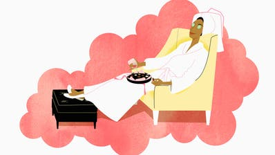 Vor Weihnachten gönnen sich die wenigsten bewusst Entspannung. ((Bild: Alamy))