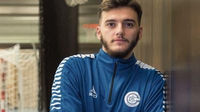 Ein Kosovarischer Nationalspieler bei Fortitudo Gossau:Xhafolli und das historische Tor