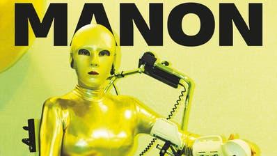 «Selbstporträt in Gold» auf dem Cover Manons neuer Monografie . (PD)