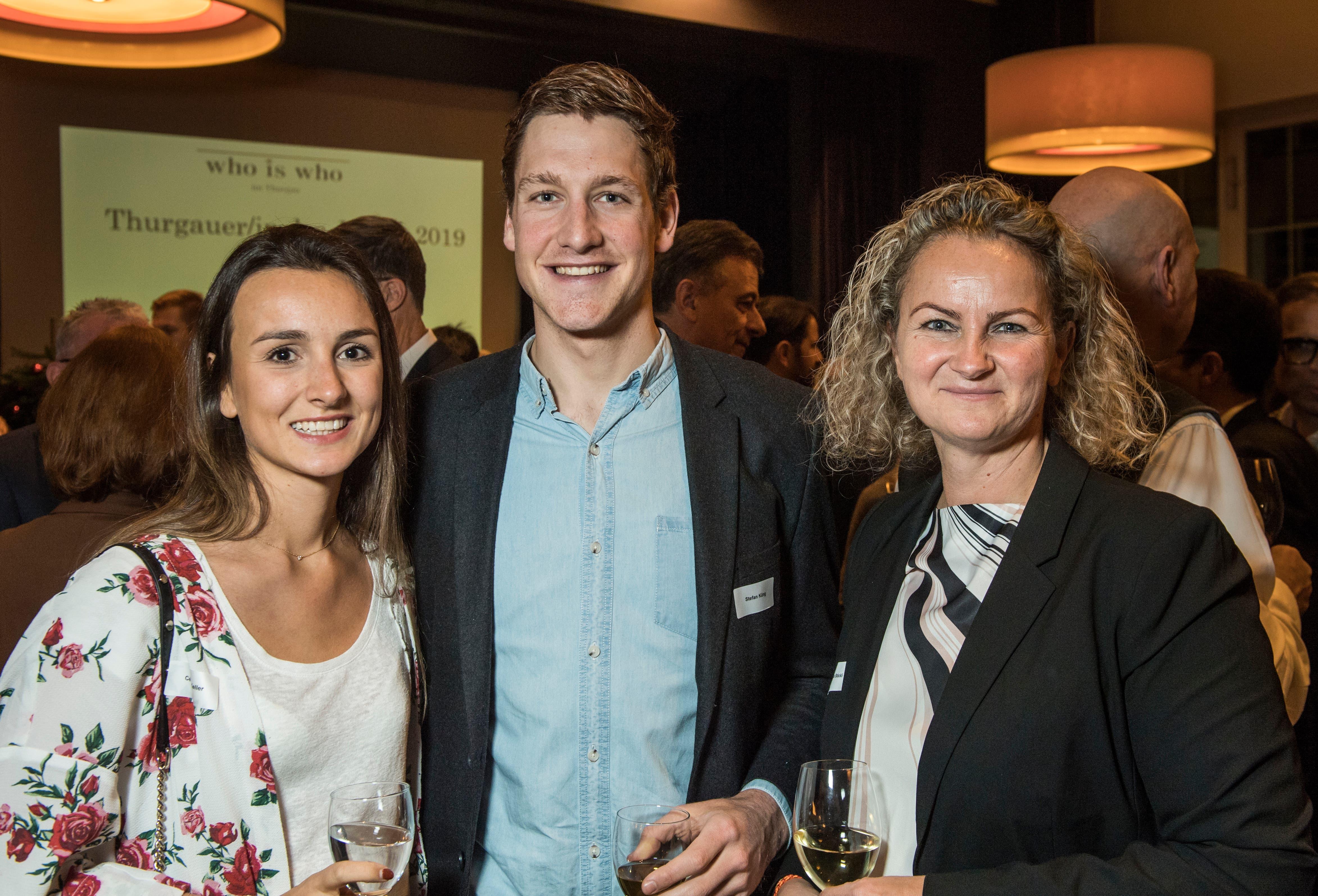 """Weinfelden TG - Feier des """"Who is Who im Thurgau 2019"""" im Traubensaal in Weinfelden."""