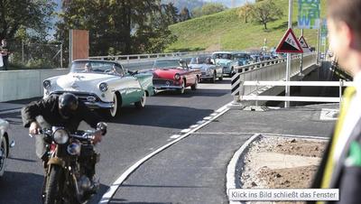 Der Bau der Oberdorfstrasse in Walchwil kostete über 8 Millionen Franken weniger als erwartet
