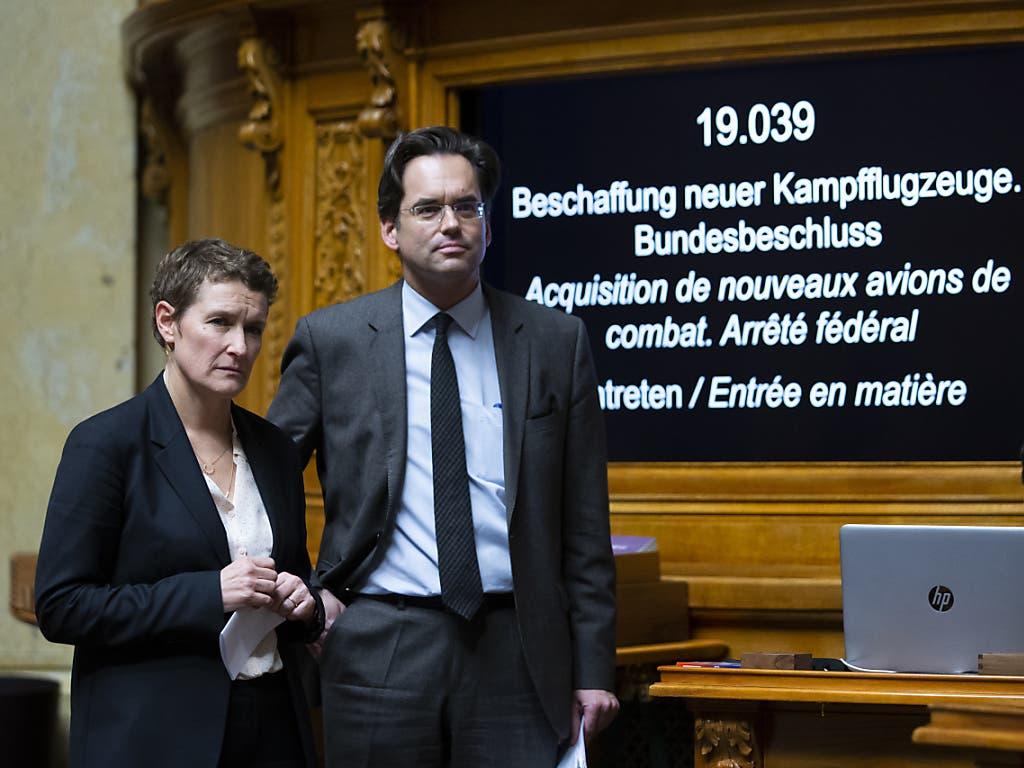 Auch Westschweizer Unternehmen sollen von Kompensationsgeschäften profitieren können: FDP-Sprecher Olivier Feller (VD).