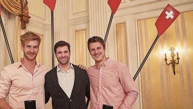 Roman Röösli erhält die höchste Schweizer Ruder-Auszeichnung